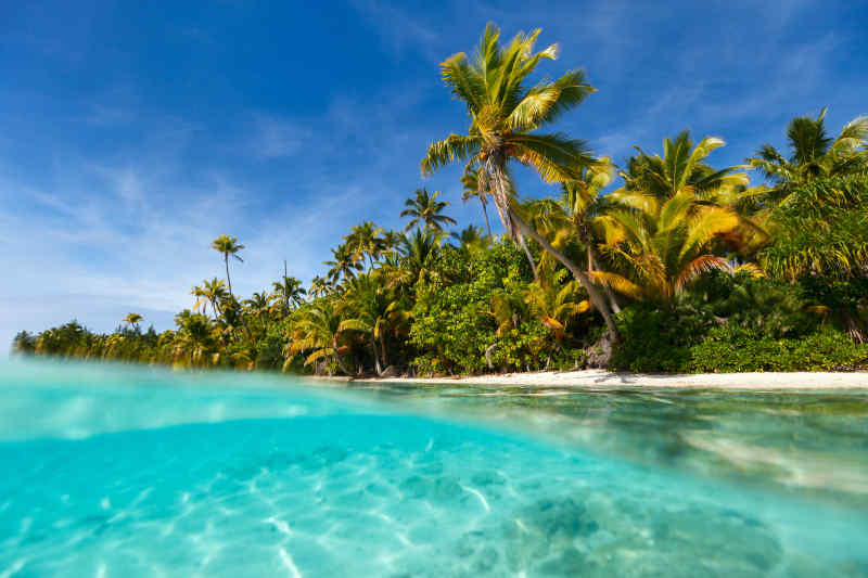 One Foot Island • Aitutaki, Cook Islands