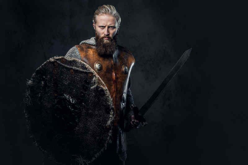 Blonde Viking
