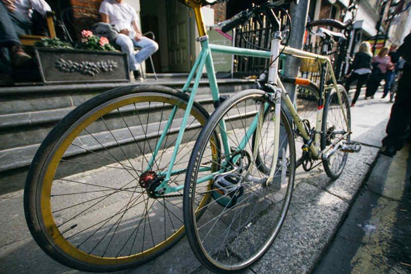 Bikes in Dublin