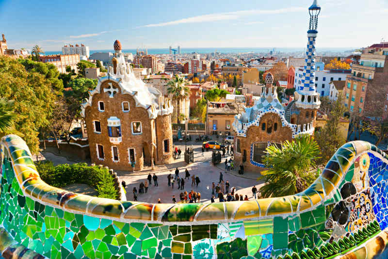 Colorful Cities: Barcelona, Spain