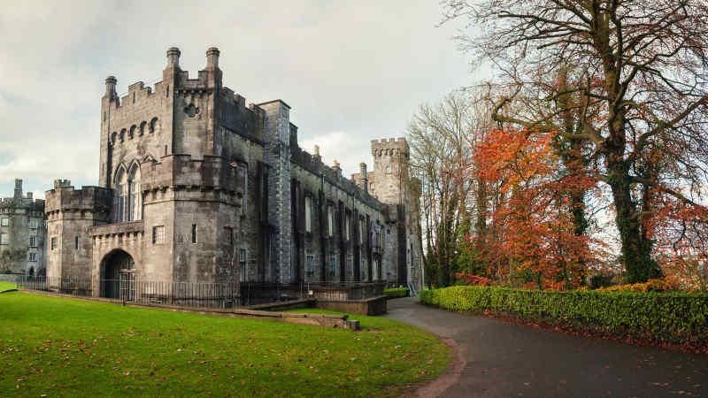 Kilkenny Castle, site of Kilkenny Arts Festival • Kilkenny, Ireland