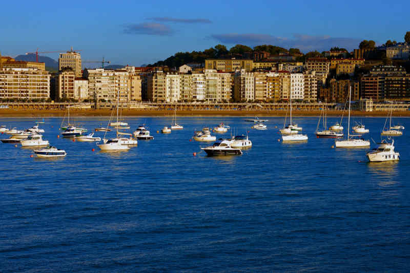 Travel to San Sebastian in Spain