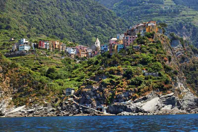 Travel to Cinque Terre in Italy