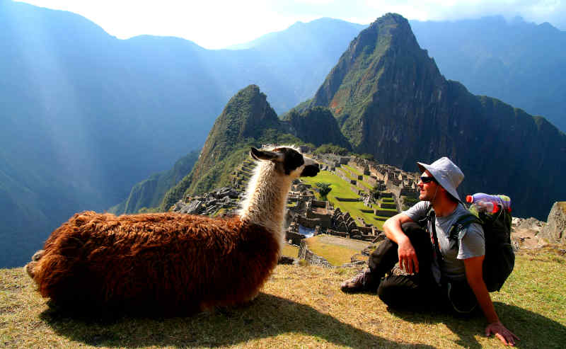 Travel to Machu Picchu in Peru