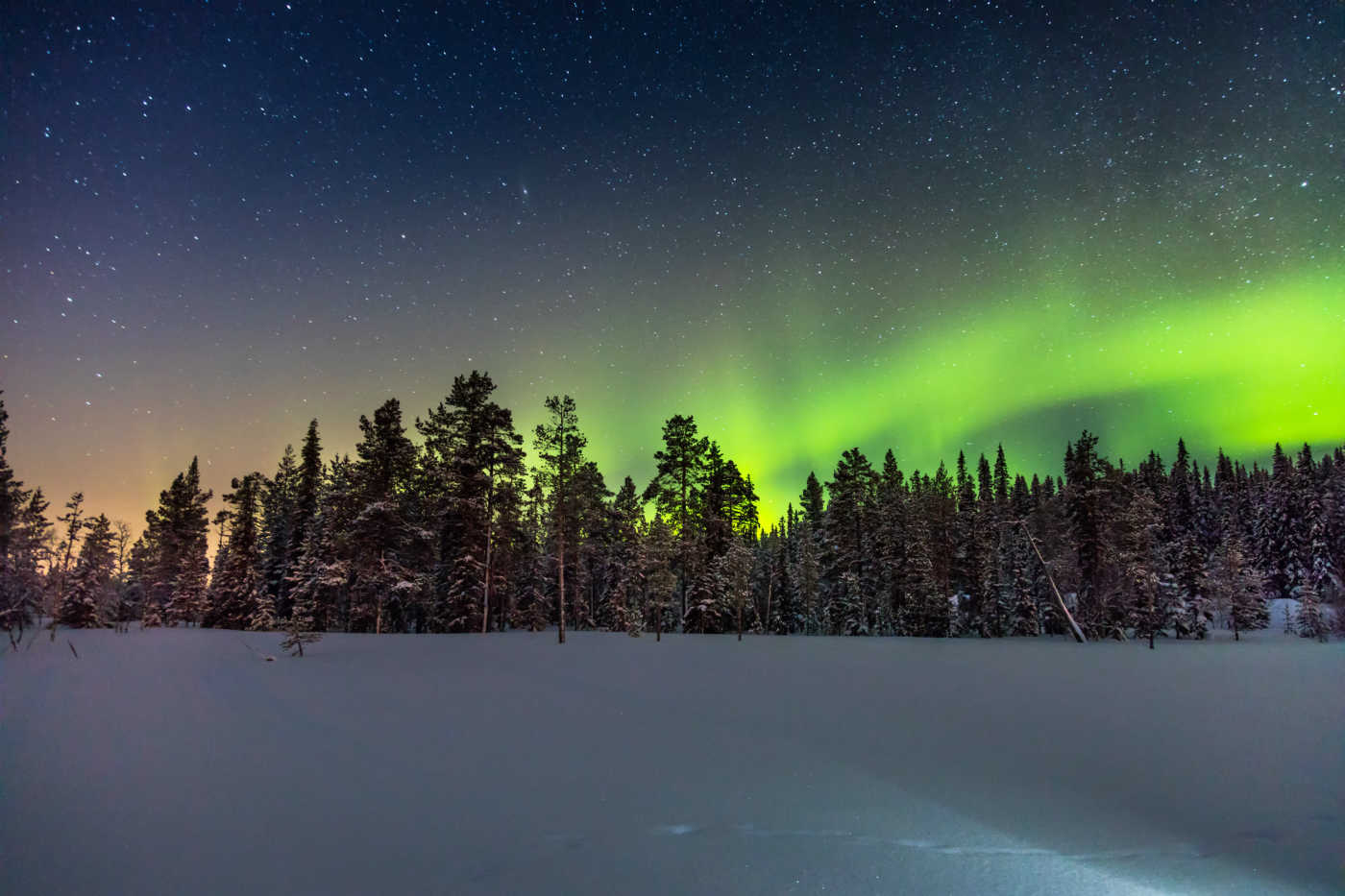 Northern Lights Igloo Finland