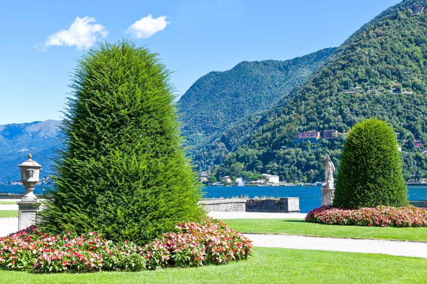Villa Olmo gardens