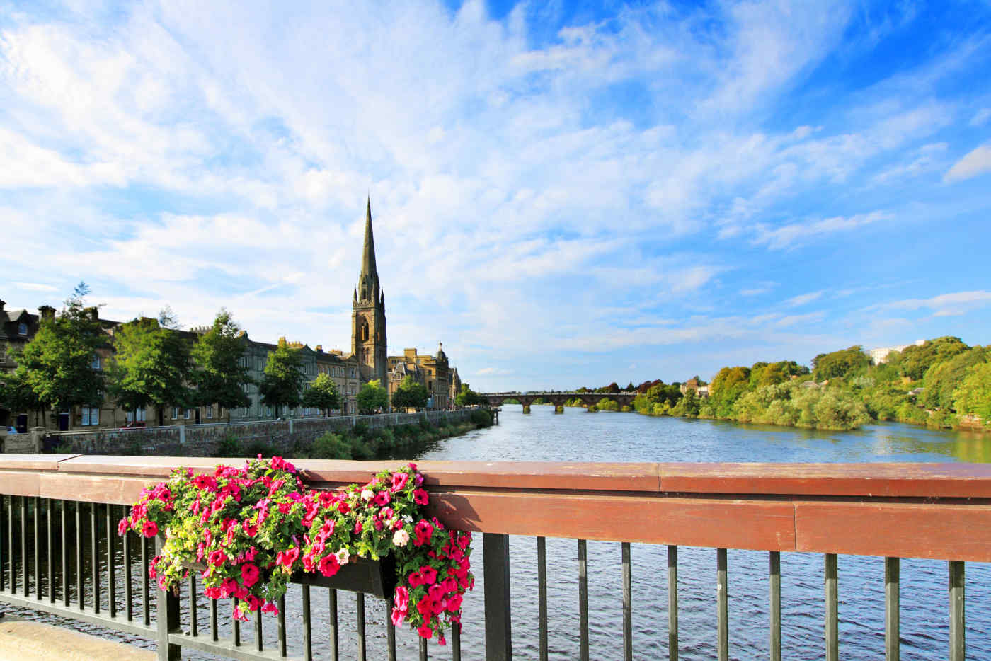 River Tay in Perth, Scotland