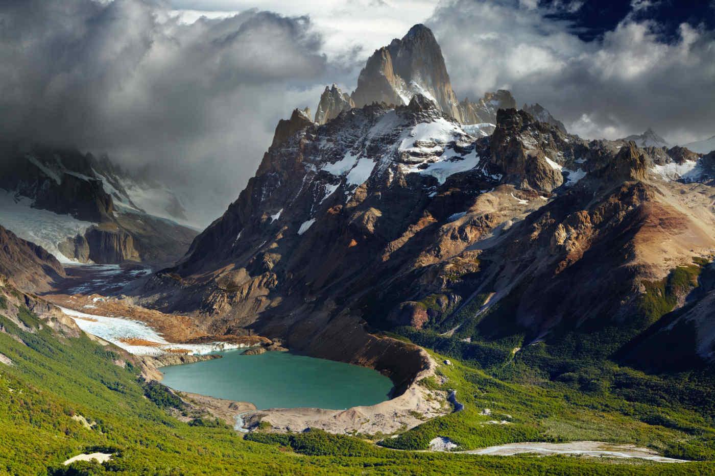 Mount Fitz Roy in Los Glaciares National Park