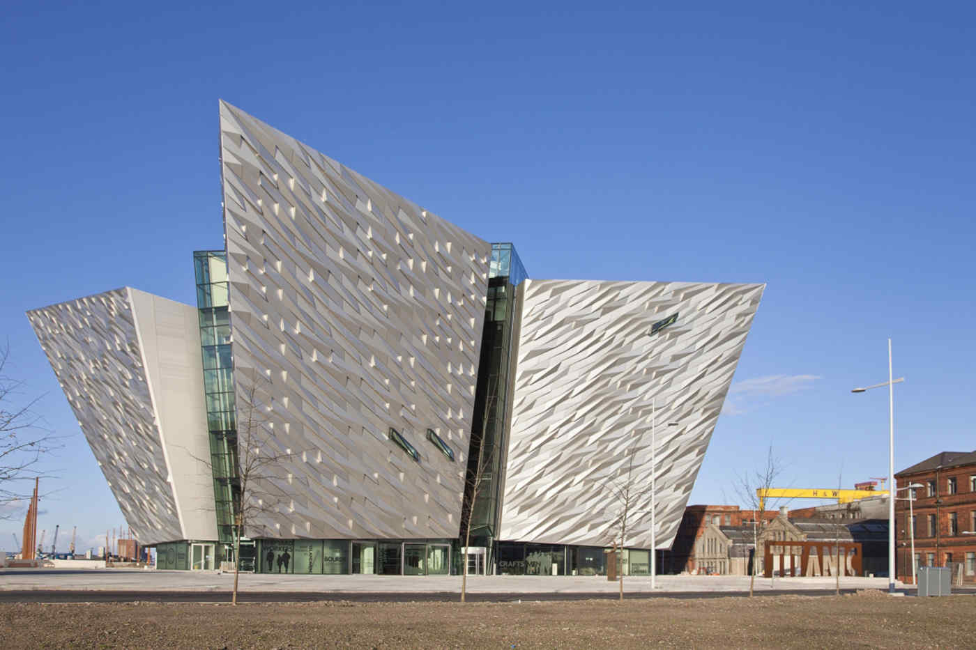 Titanic Belfast in Belfast, Northern Ireland
