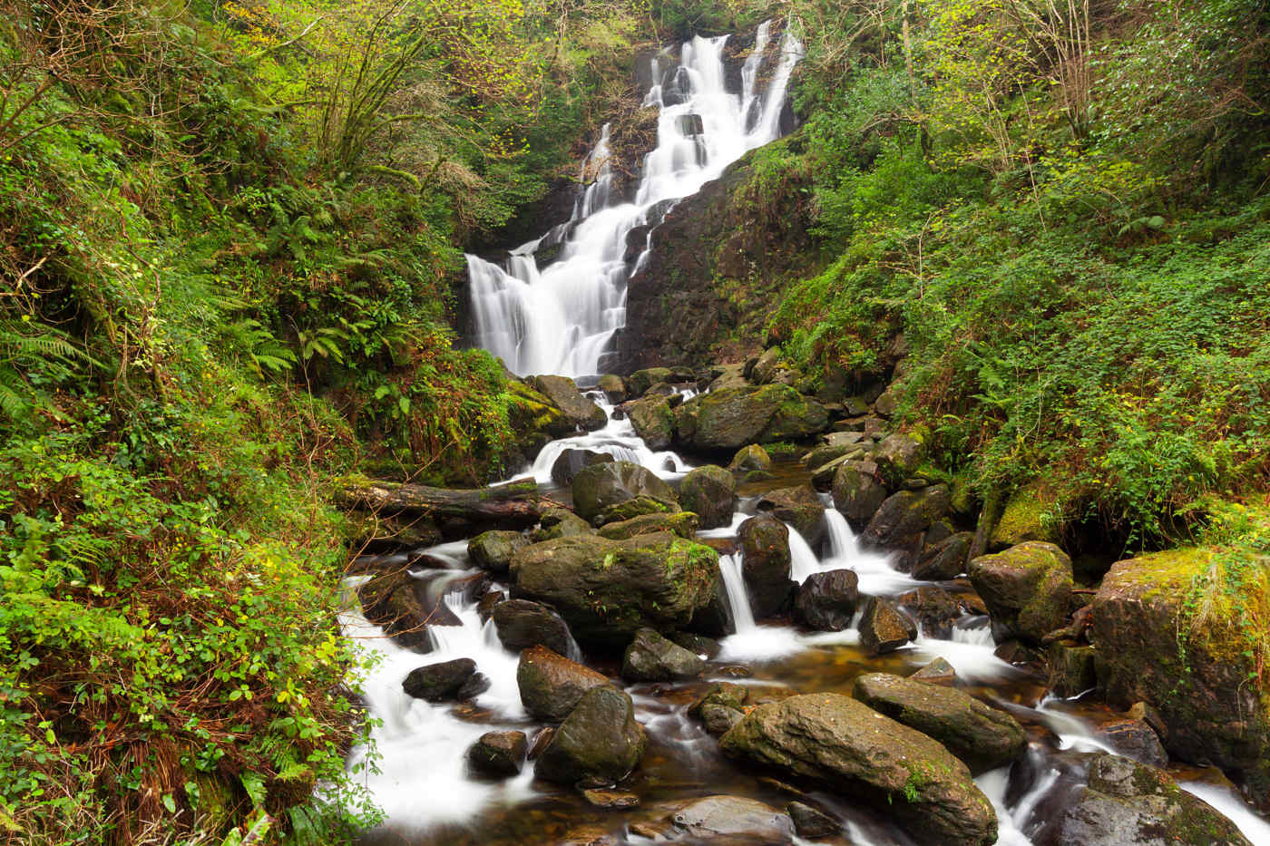 Torc Waterfall, Ring of Kerry, Ireland