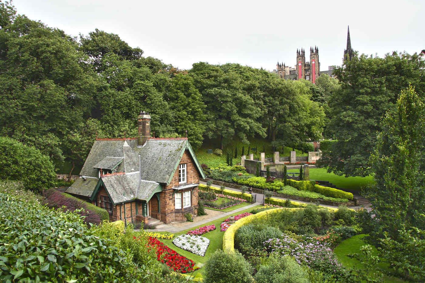 Princes Street Garden, Edinburgh