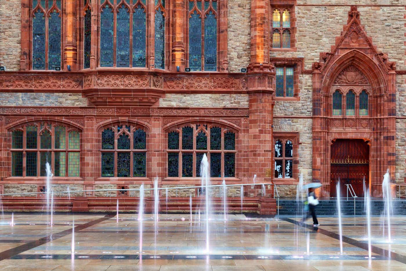 Guildhall in Derry, Northern Ireland