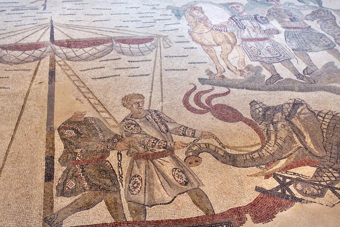 Mosaics of Villa Romana del Casale, Piazza Armerina