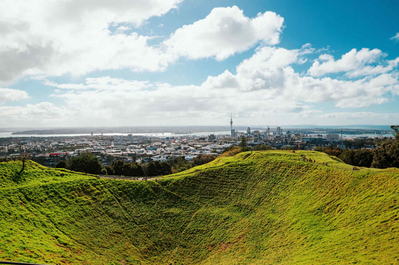 View from Mount Eden • Auckland, New Zealand