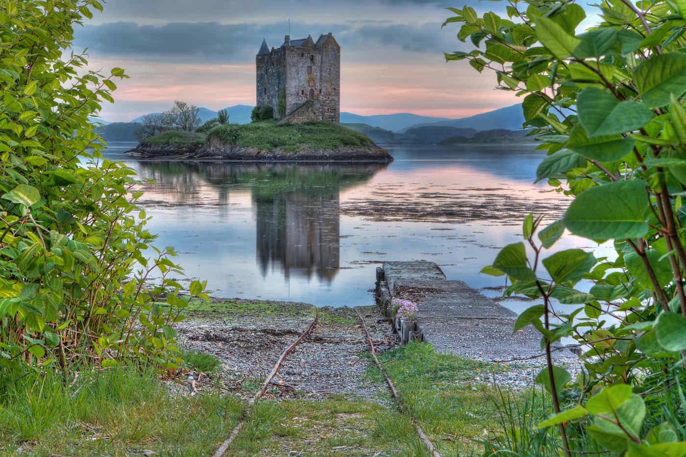 Stalker Castle in Appin, Scotland