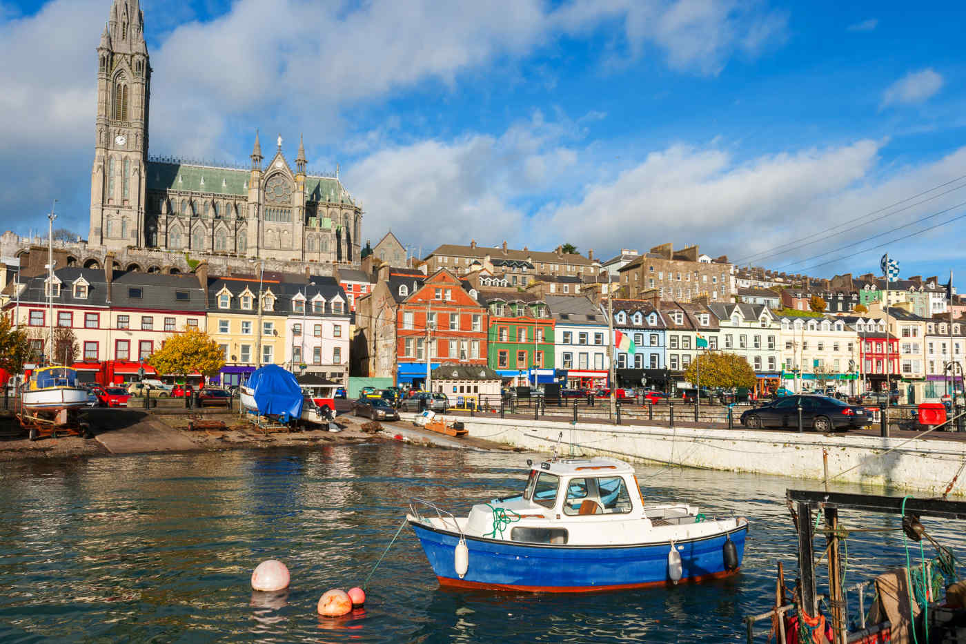 Cobh in County Cork, Ireland