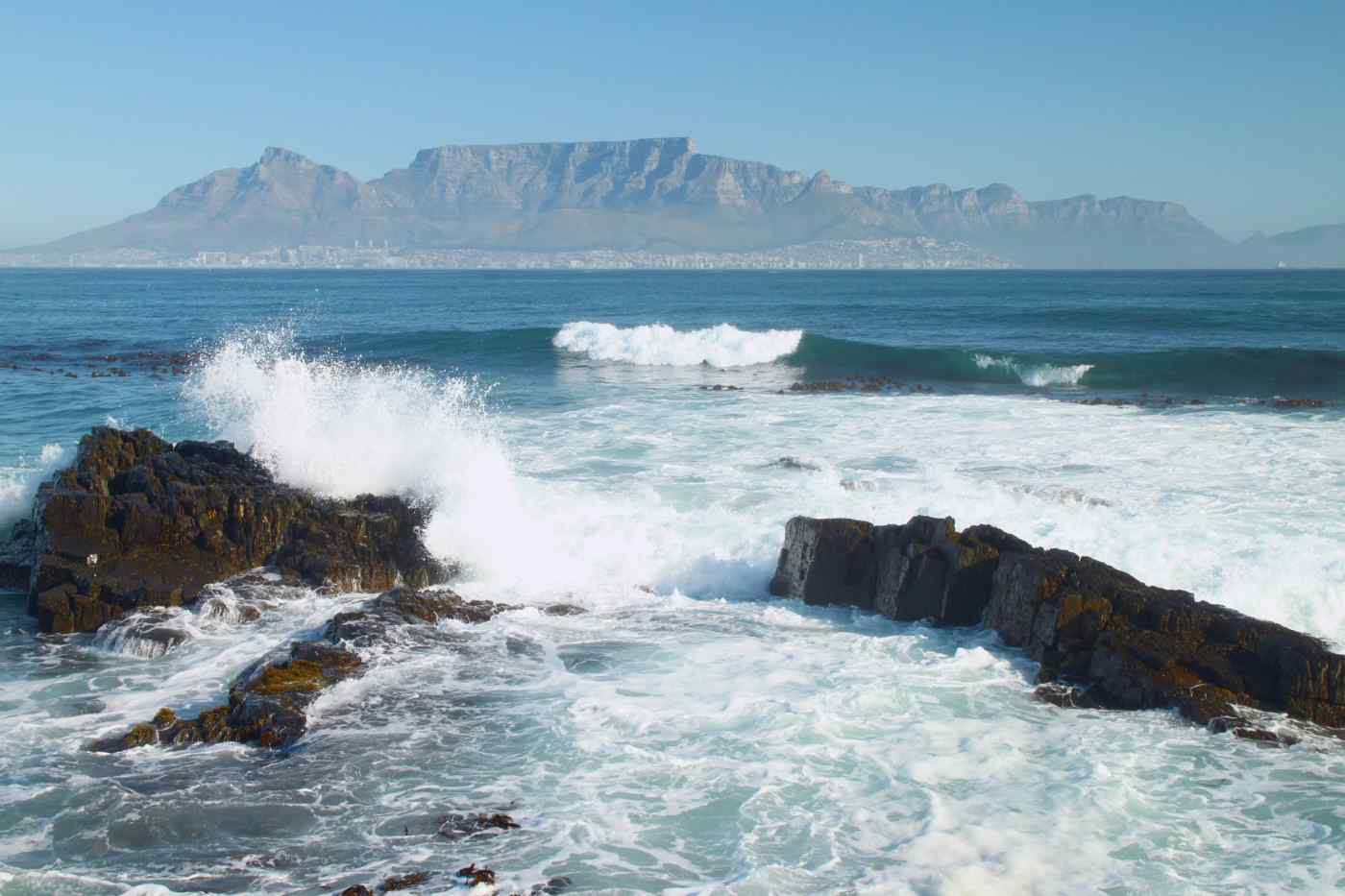 View from Robben Island, South Africa