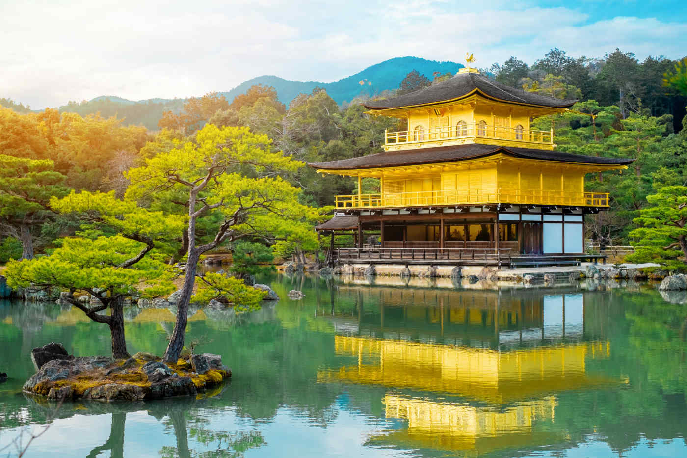 Kinkakuji, the Temple of the Gold Pavilion.
