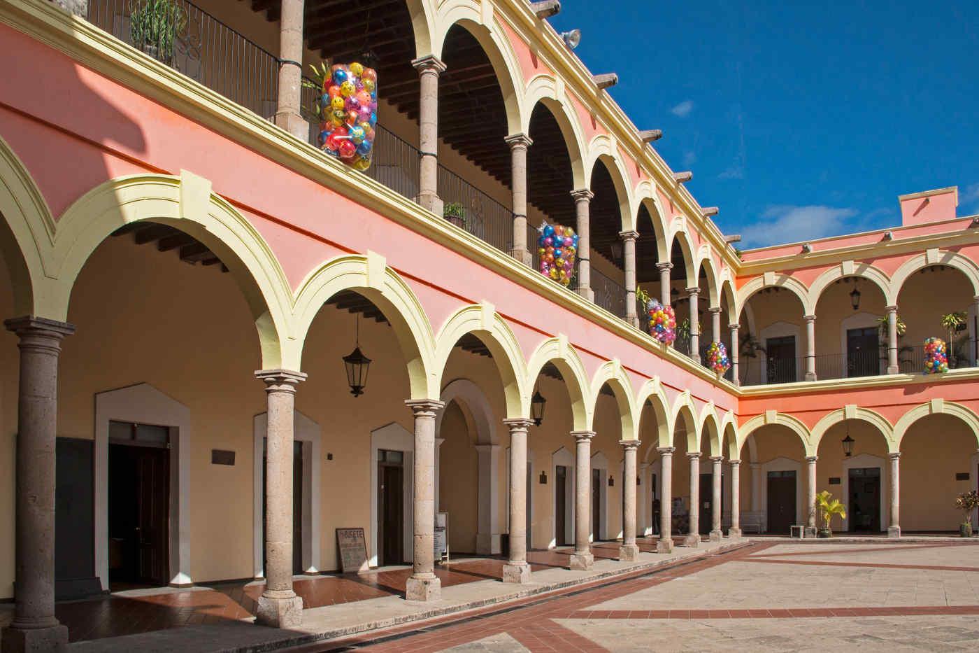 Palace in El Fuerte, Mexico