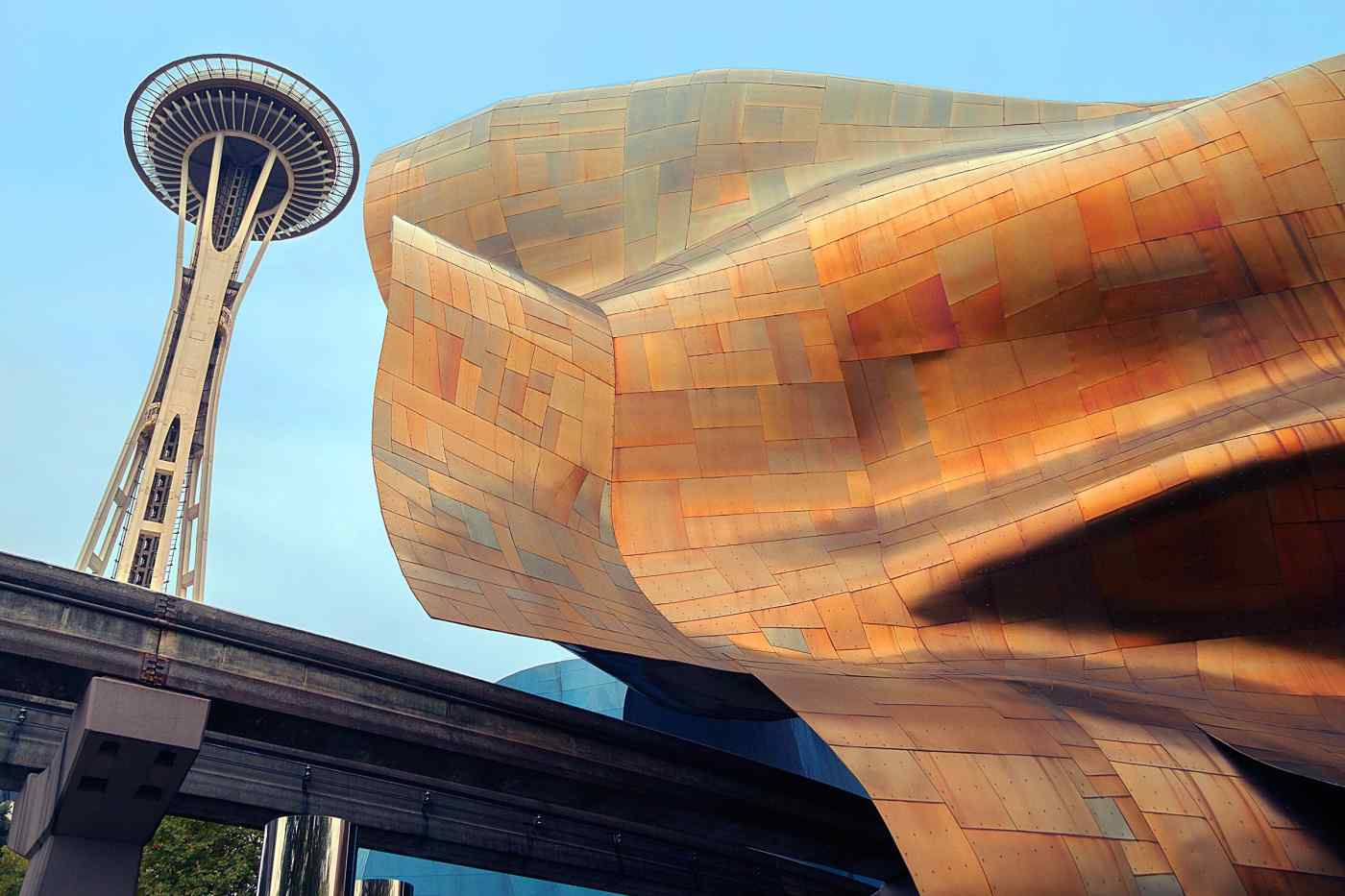 The Frank Gehry-designed Museum of Pop Culture