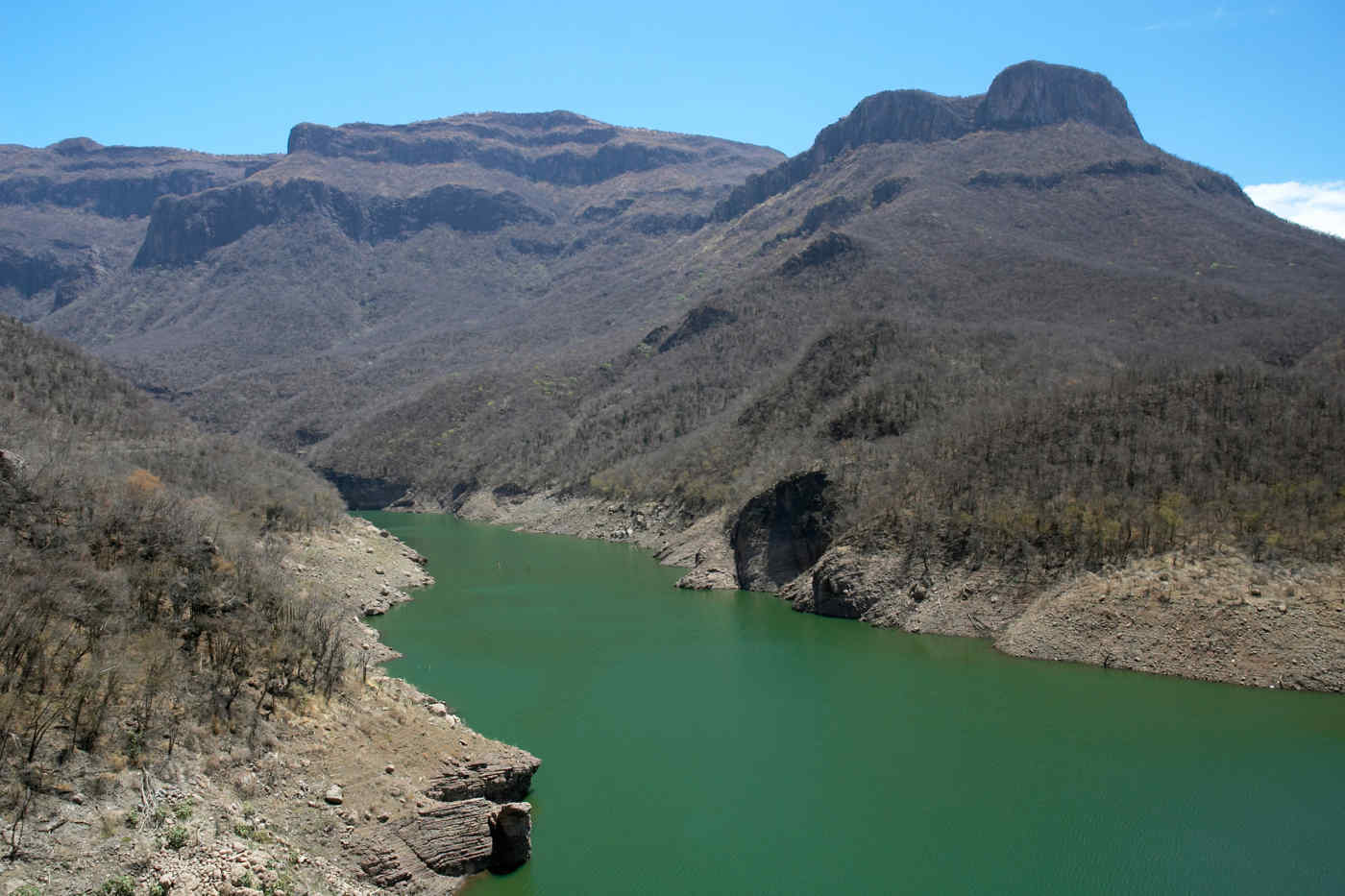Copper Canyon Lake in Mexico