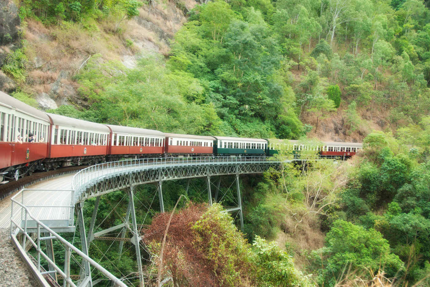 Kuranda by train • Cairns, Australia