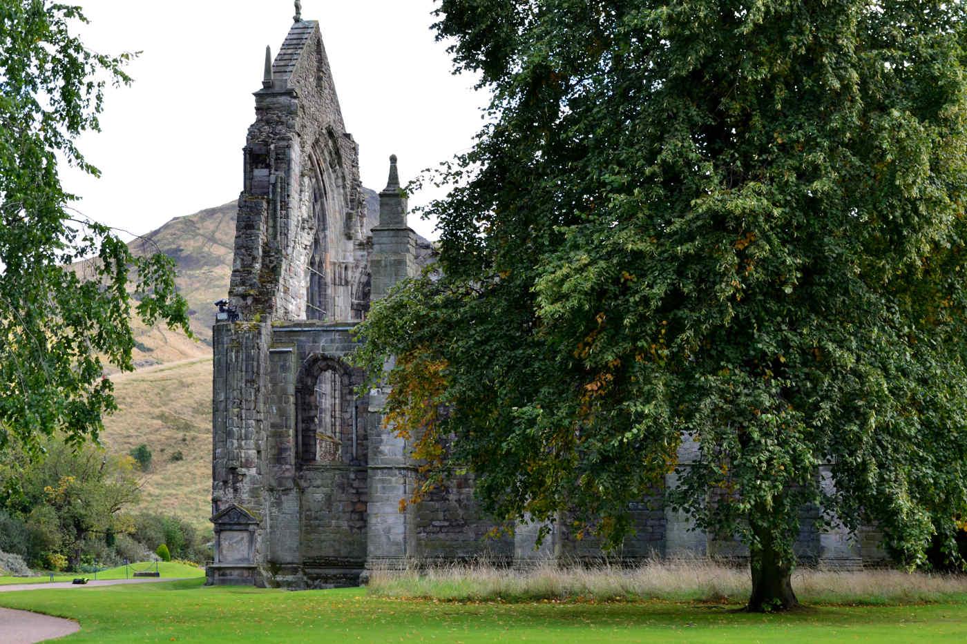 Holyrood Park in Edinburgh, Scotland