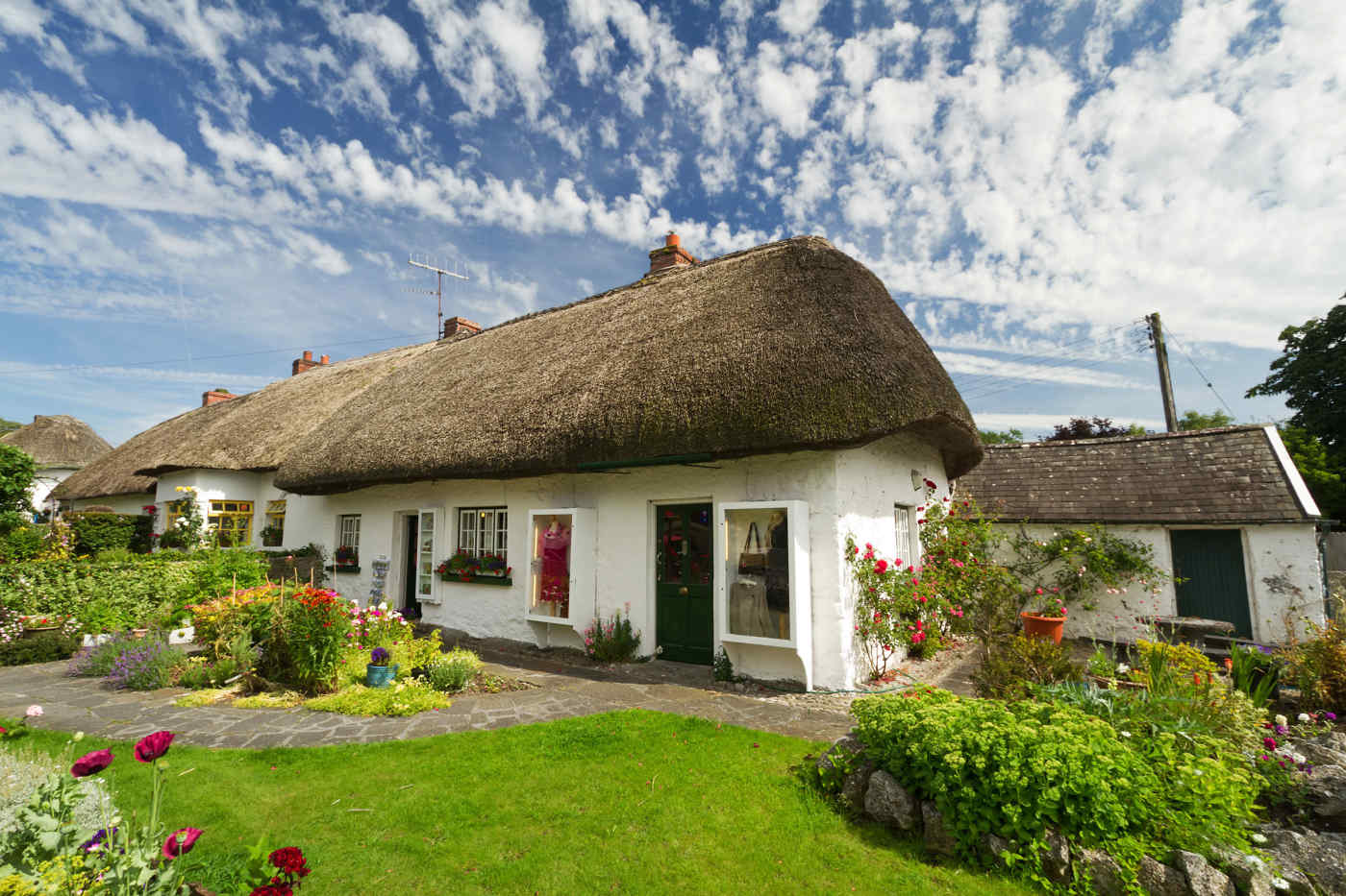 Traditional Irish Cottage in Adare, Ireland