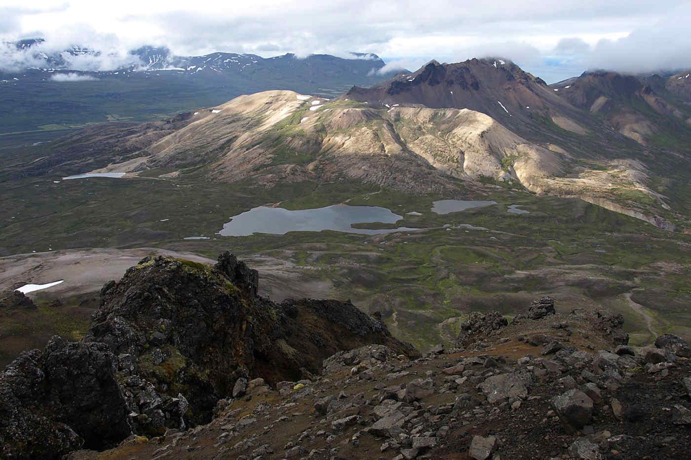 Borgarfjordur Mountains