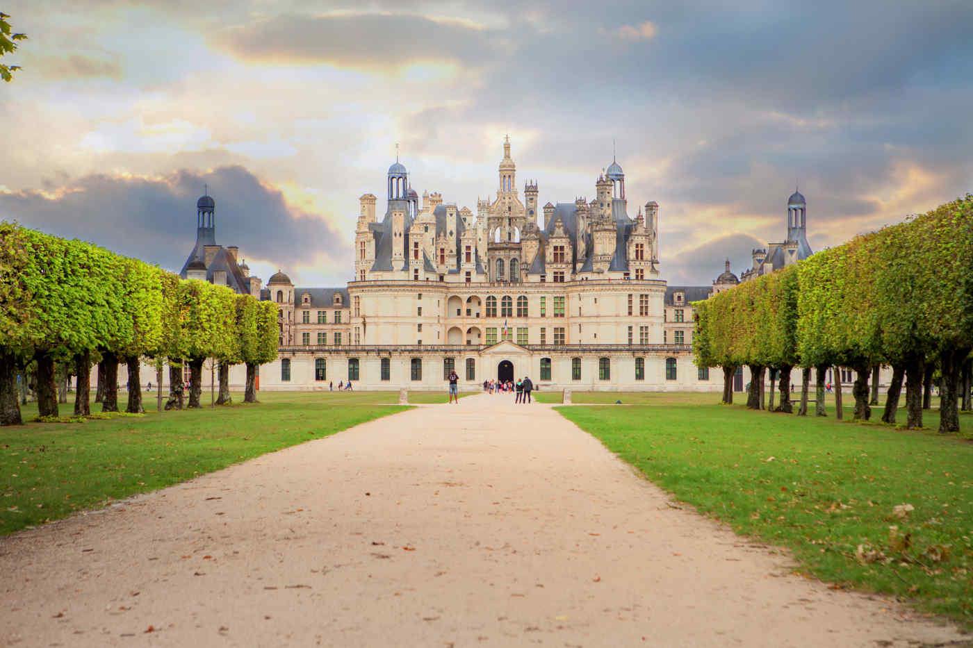 Chateau Chambord in Loire Valley, France