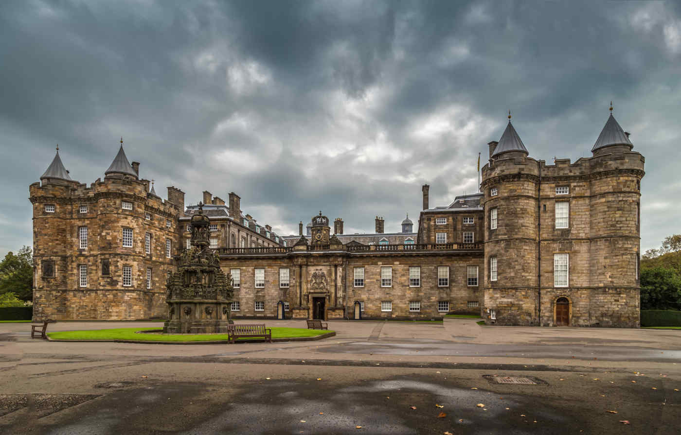 Holyrood Palace in Edinburgh