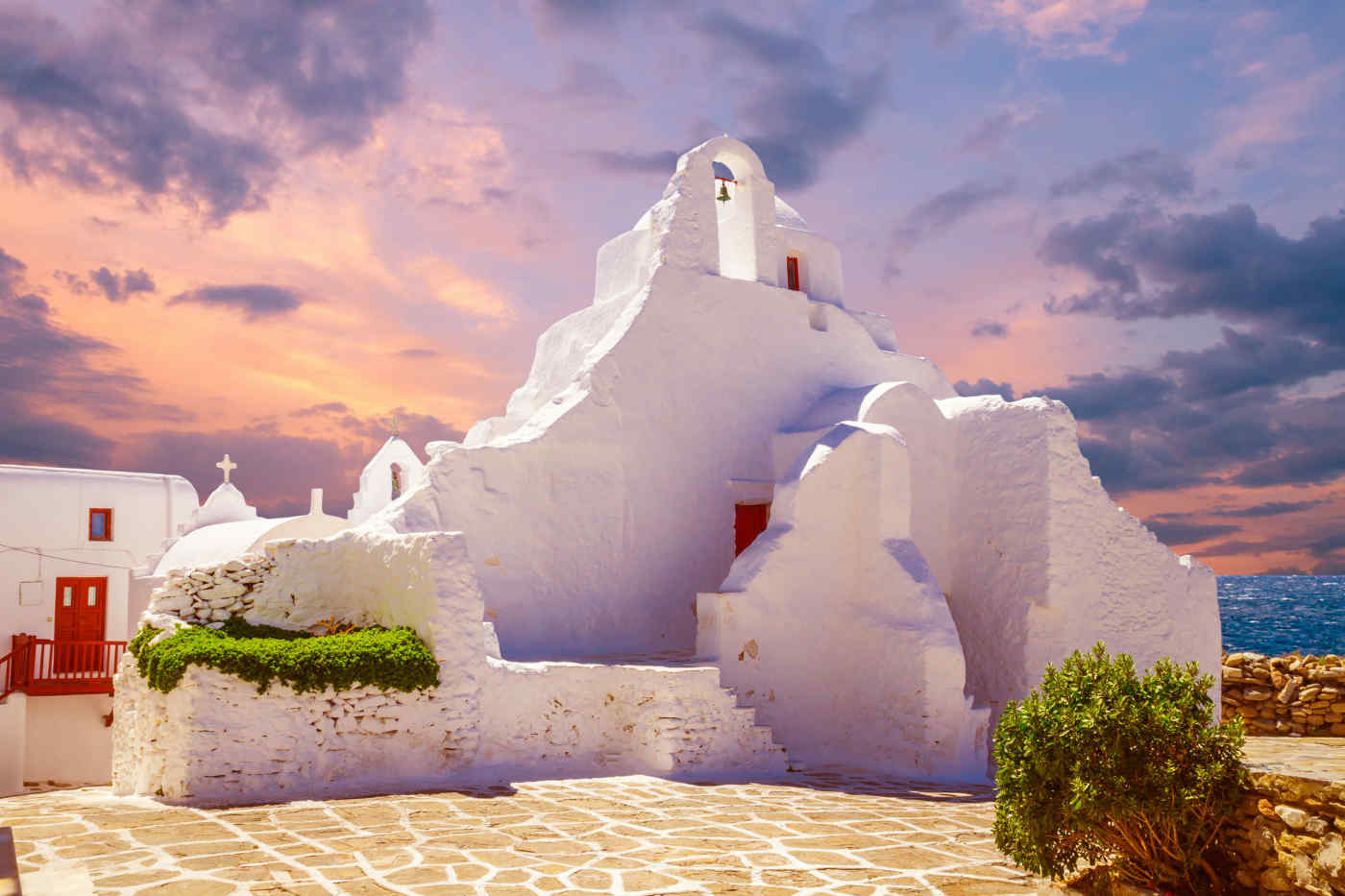 Paraportiani Church, Mykonos, Greece