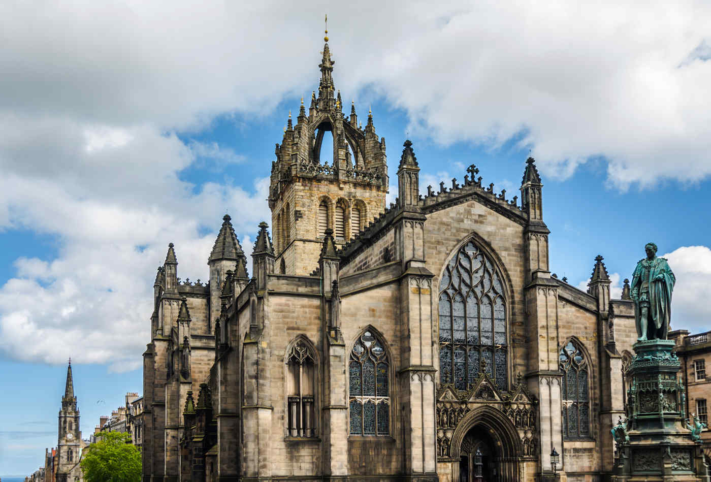 Giles Cathedral in Edinburgh, Scotland