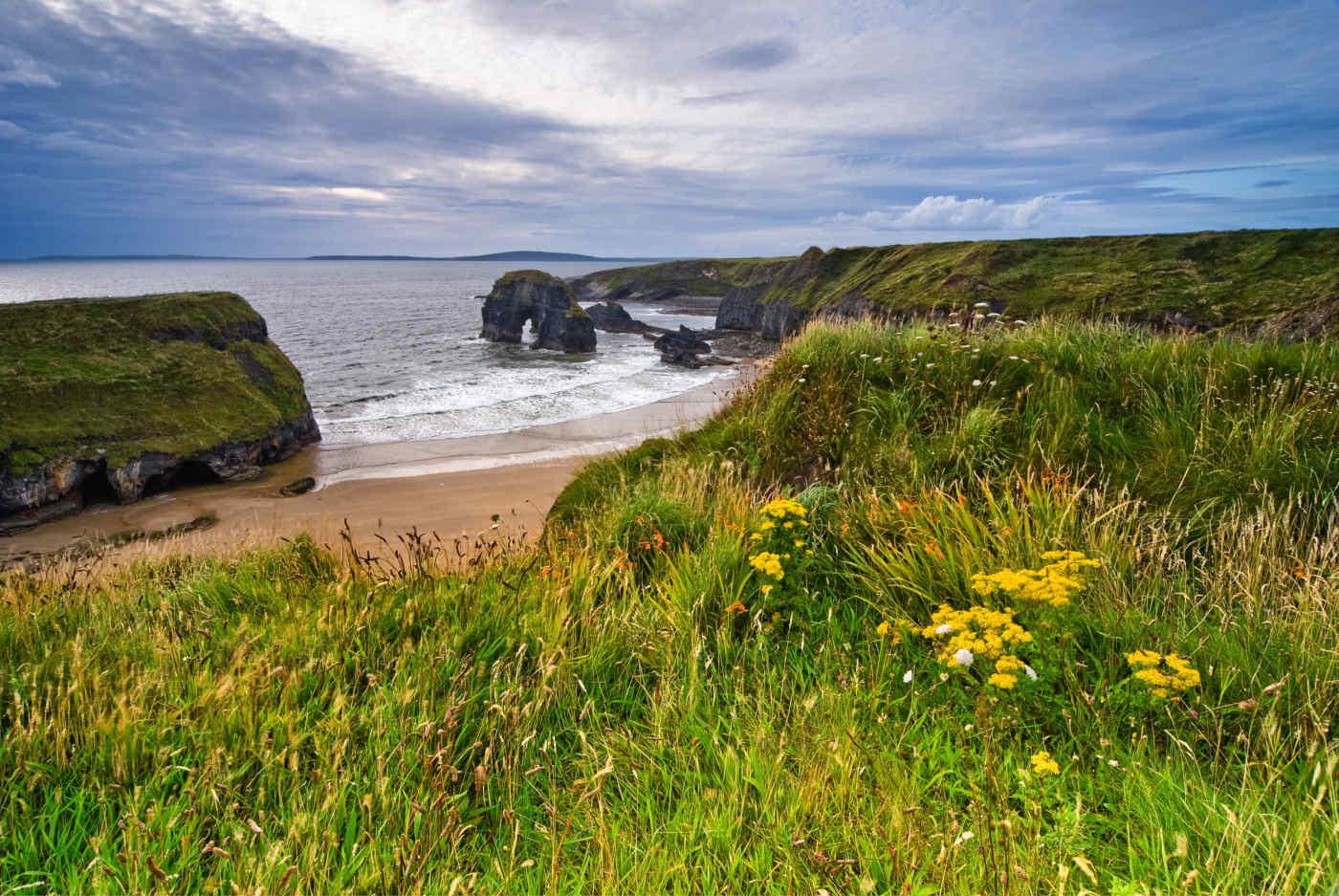 Cliffs over the Atlantic