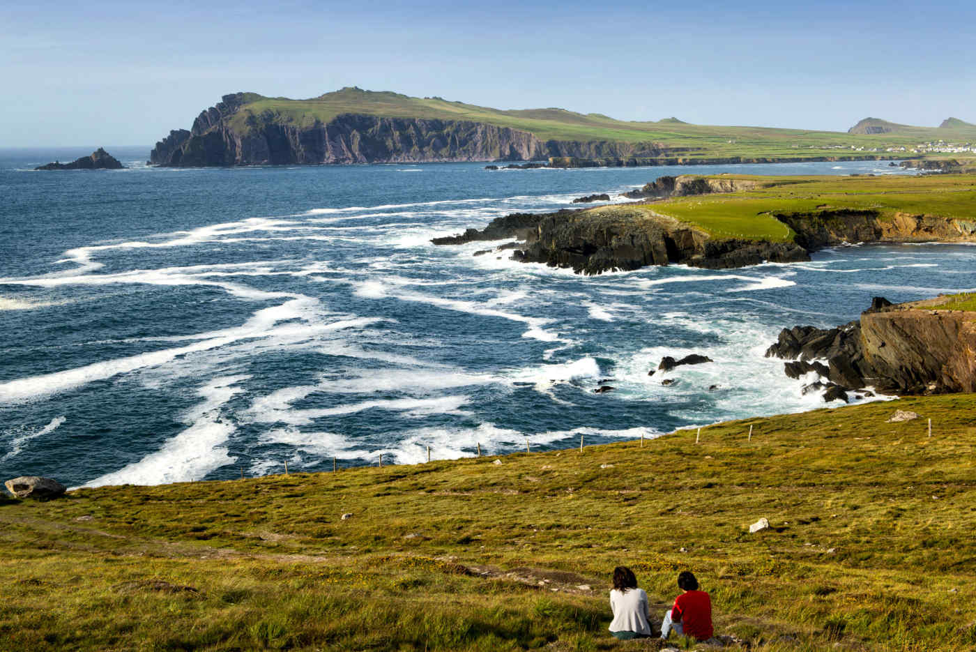 Blasket Islands in County Kerry, Ireland