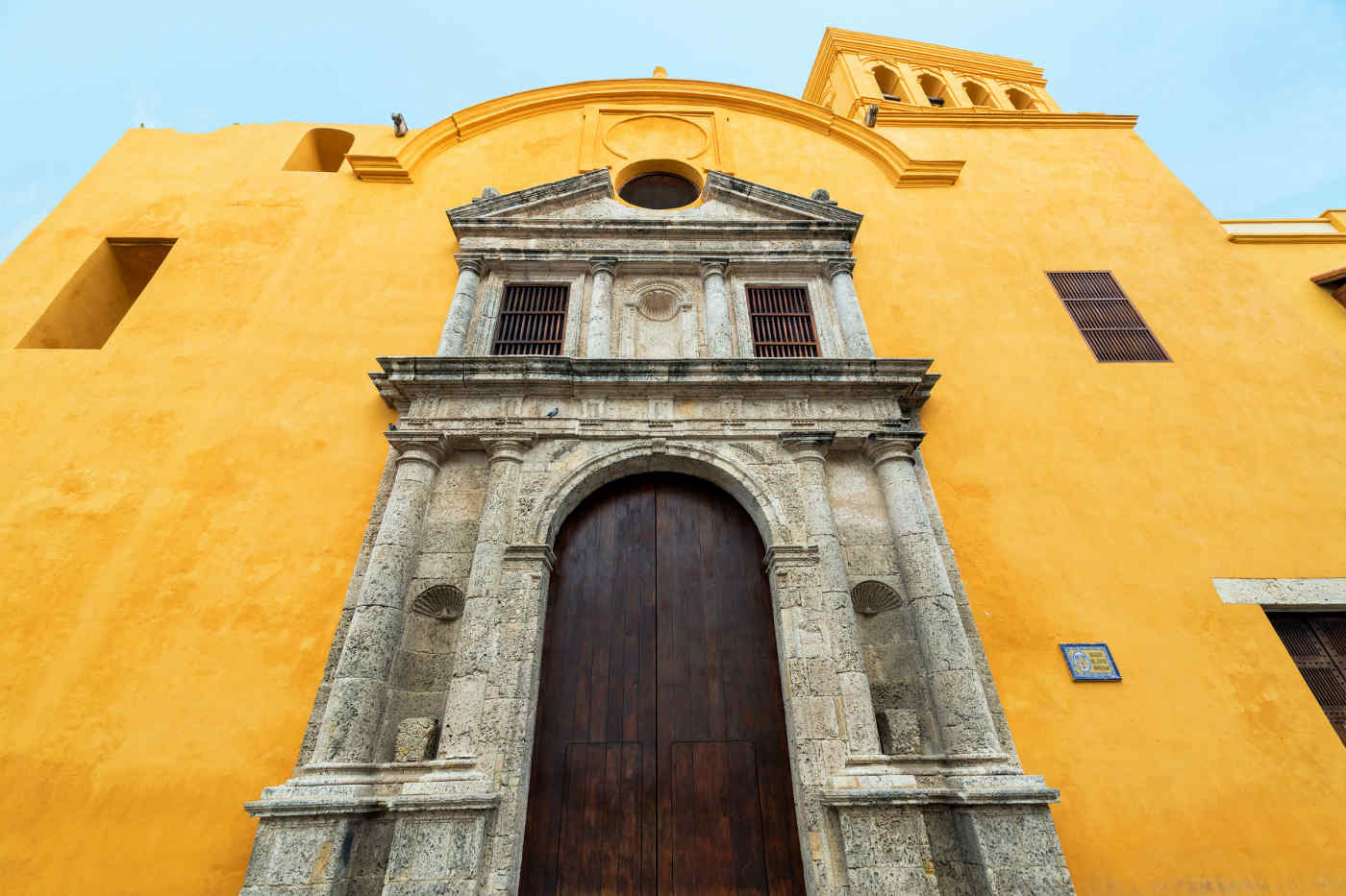 Santo Domingo Church in Cartagena, Colombia