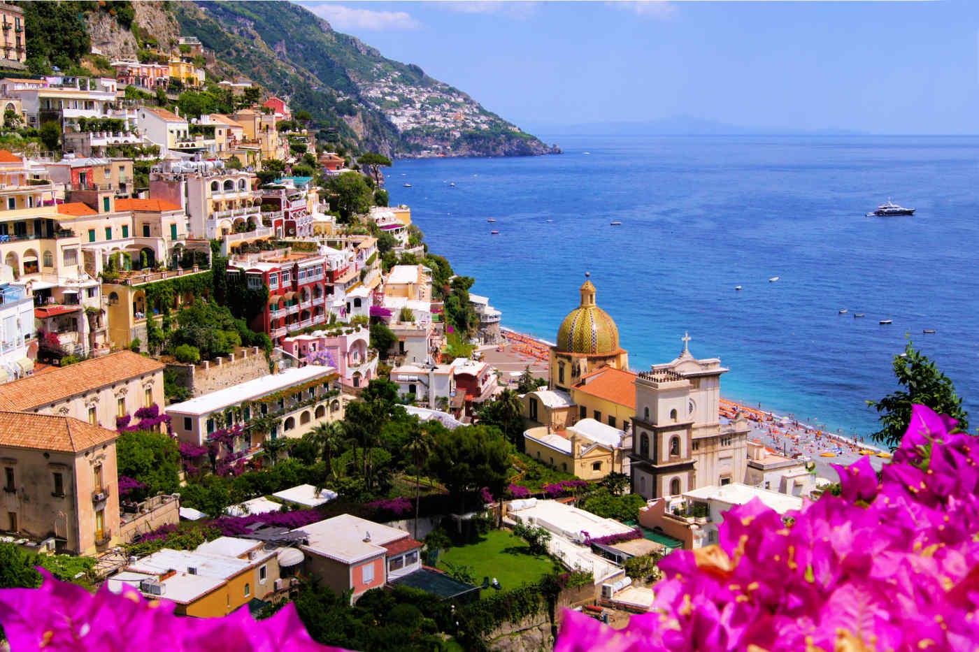 Positano in Italy