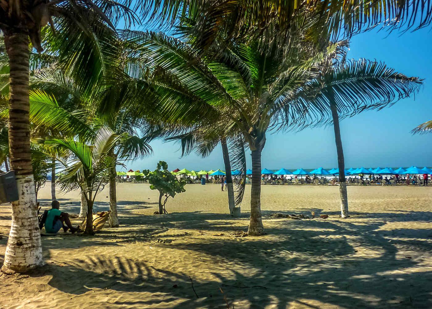 Manzanillo Beach, Colombia