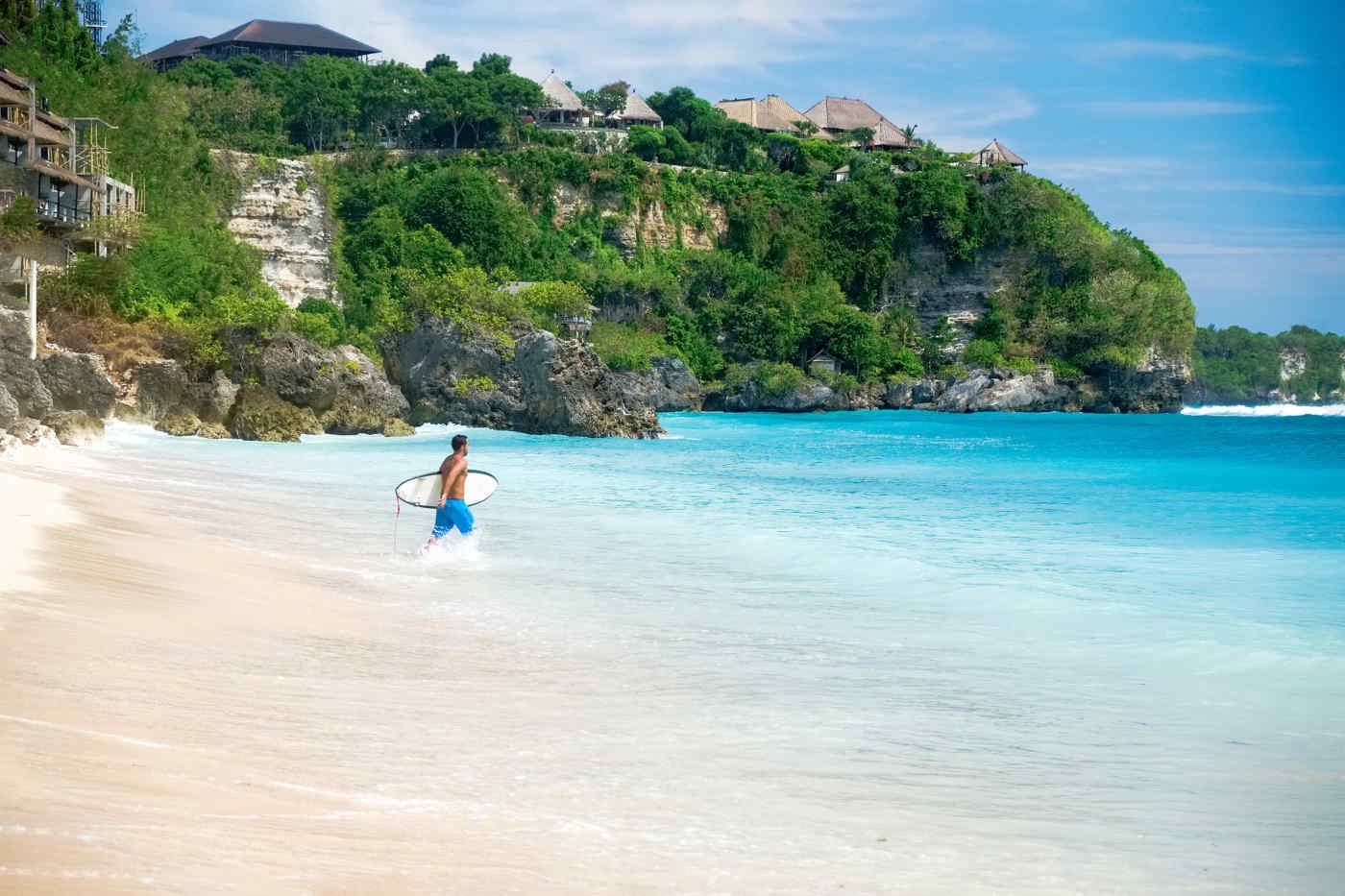 Beach near Tanjung Benoa, Bali