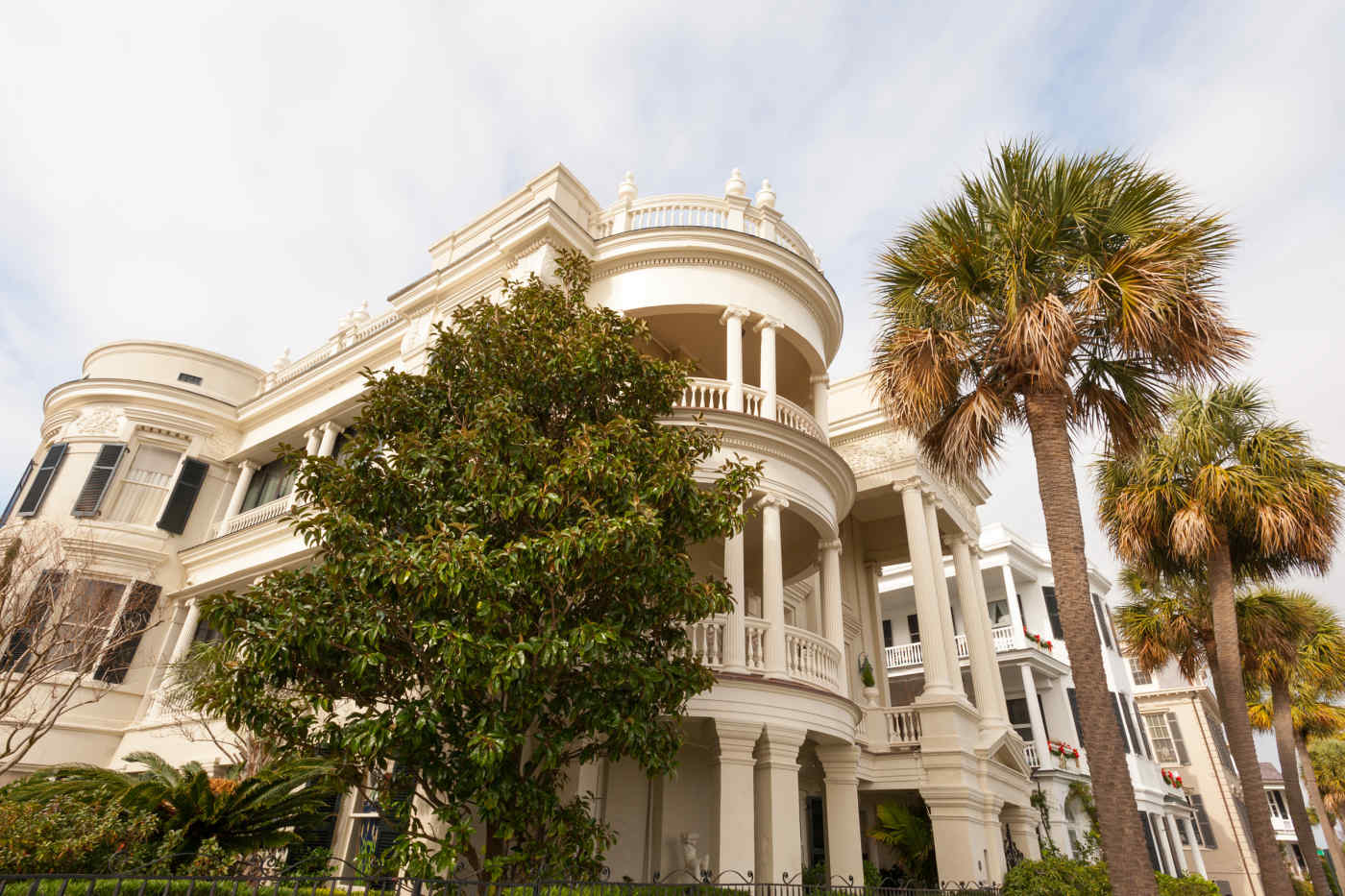 Colonial Houses in Charleston