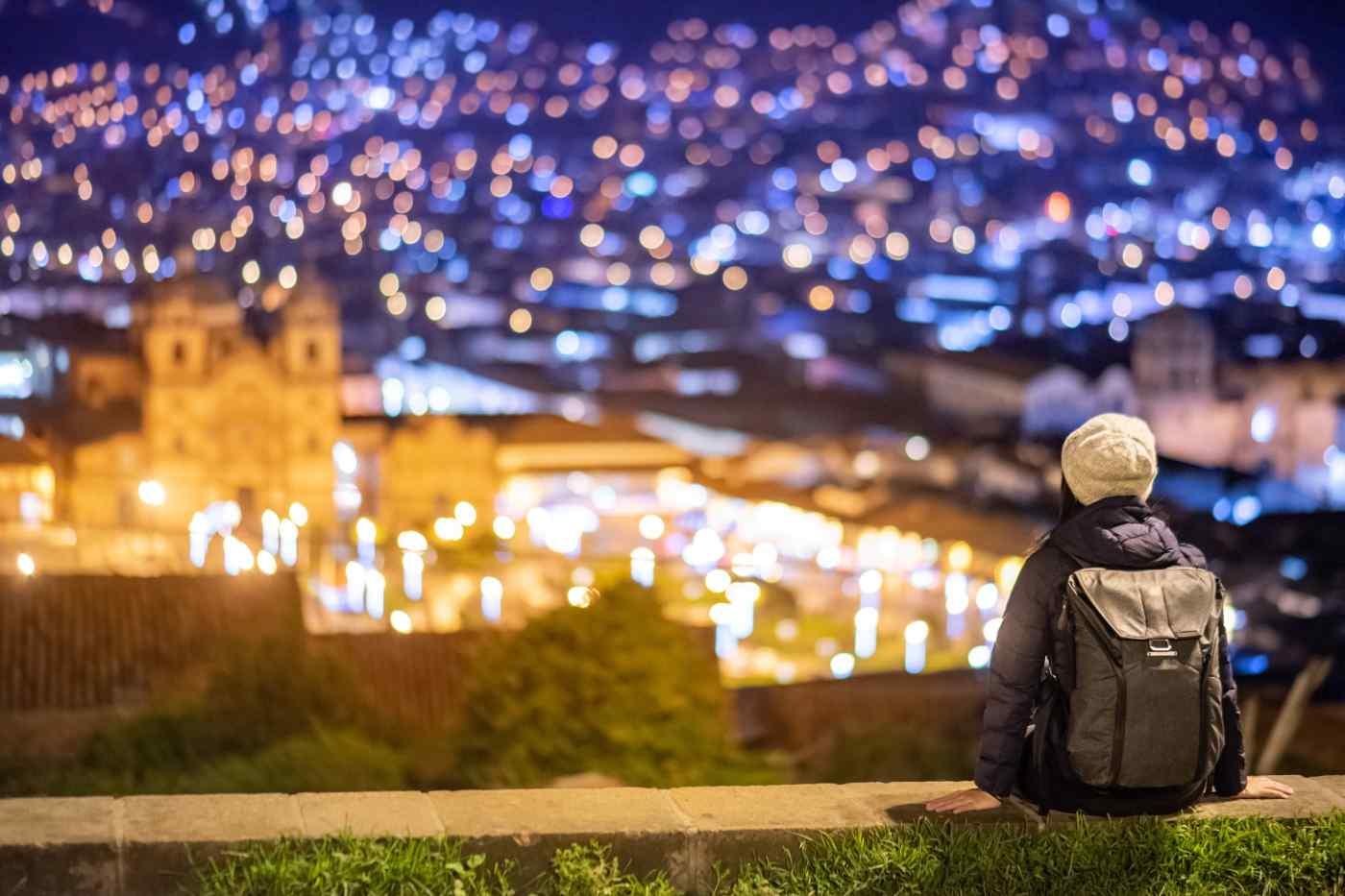 Cusco City at Night