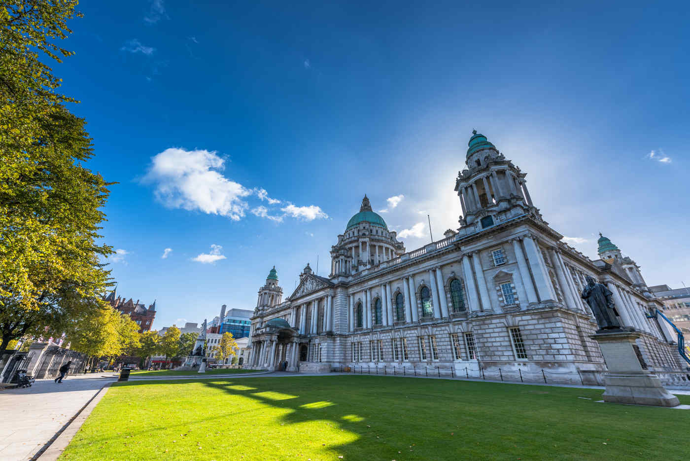City Hall in Belfast, Northern Ireland