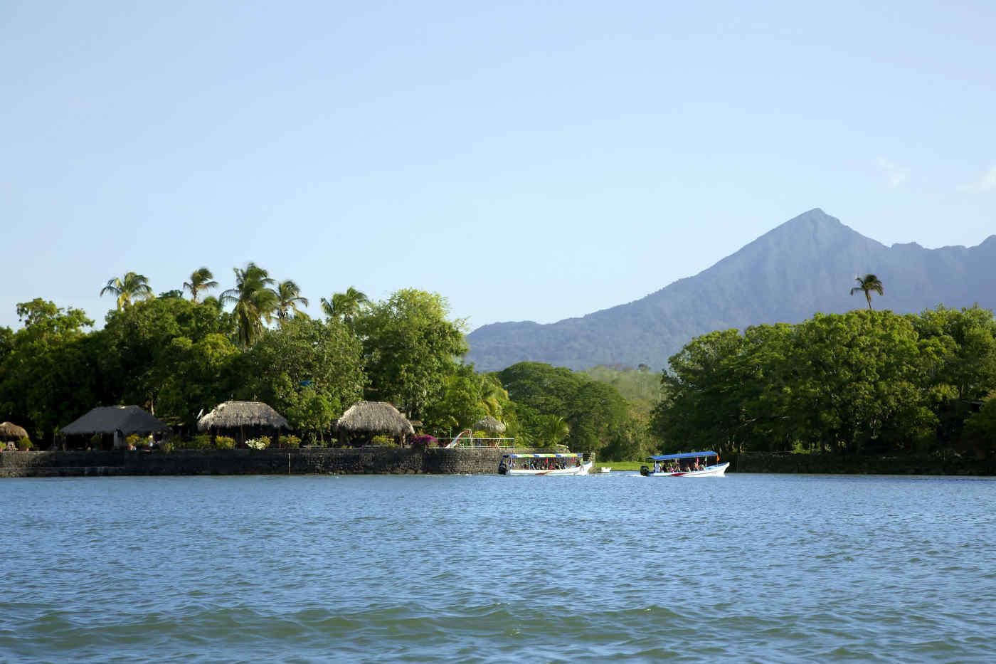Lake Nicaragua in Granada