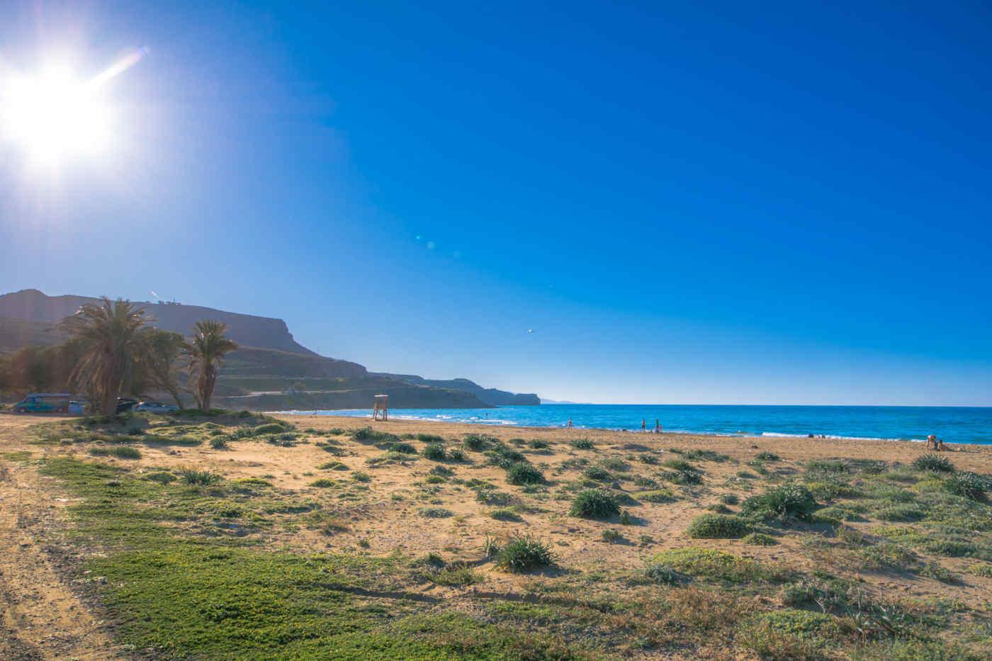 Karteros Beach • Heraklion, Crete, Greece