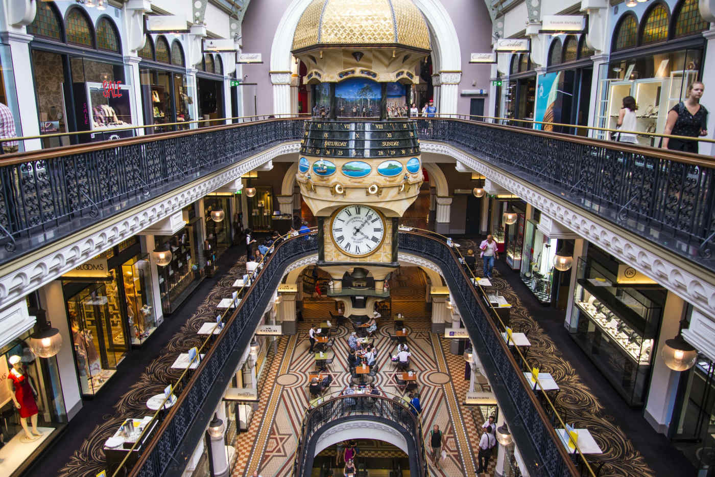 Queen Victoria Building in Sydney, Australia