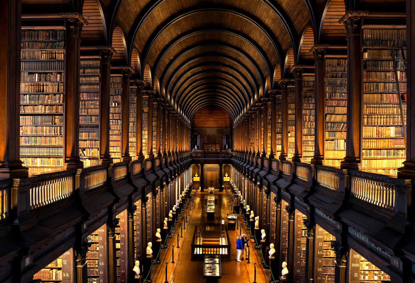 Trinity College Library • Dublin, Ireland