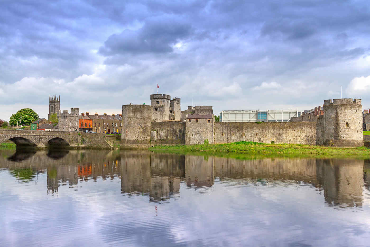 King John's Castle in Limerick, Ireland