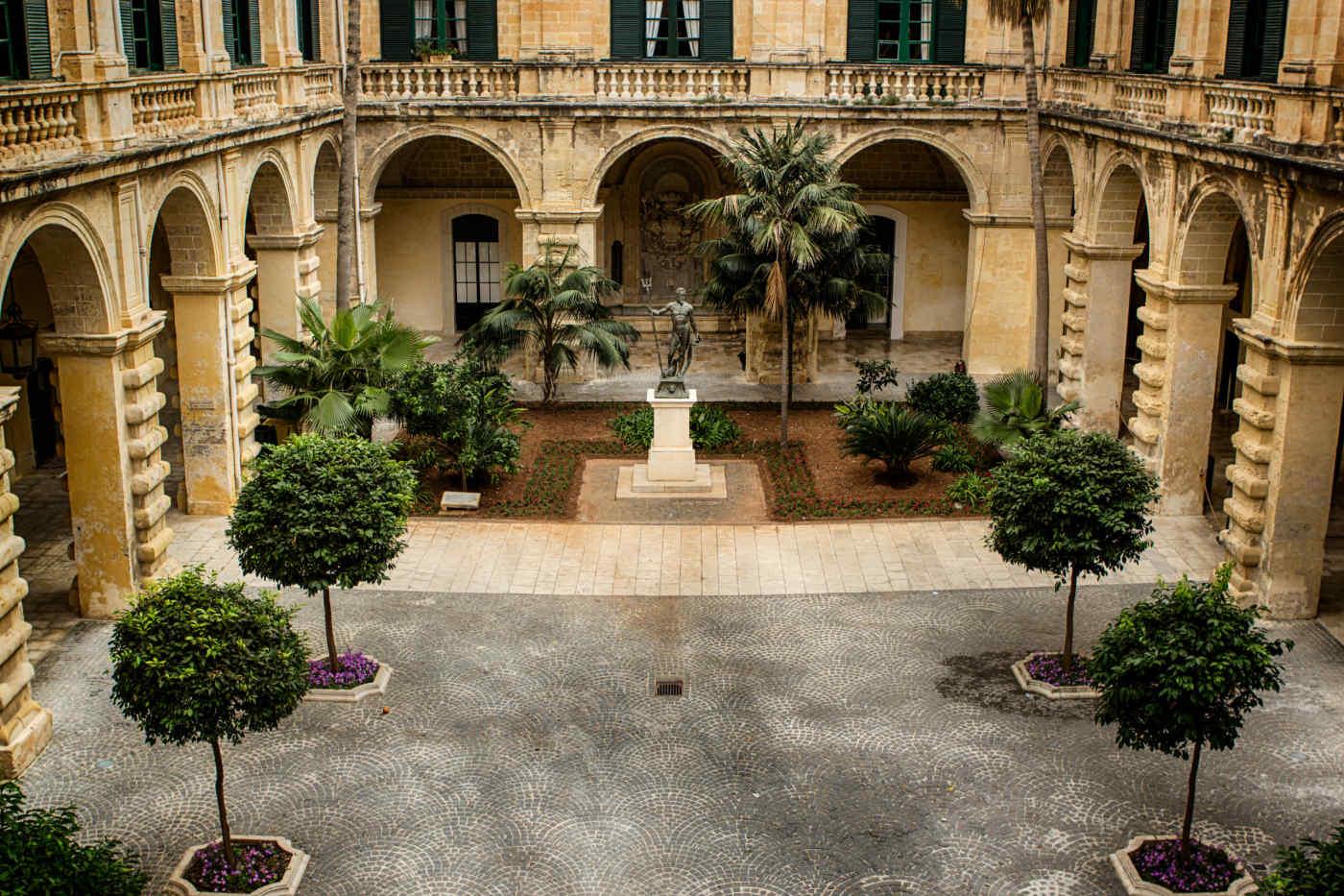 Grandmaster's Palace • Valletta, Malta
