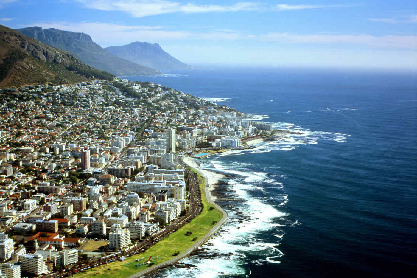 View from Lion's Head in Cape Town