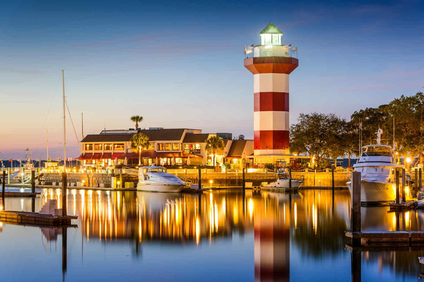 Harbour Town Lighthouse, Hilton Head Island, South Carolina